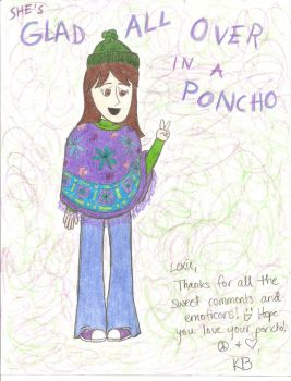 Request - Lexie's Poncho by girlwitharubbersoul