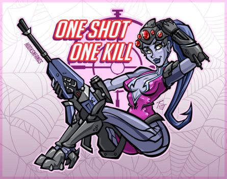 [Comm] One Shot, One Kill by hooksnfangs