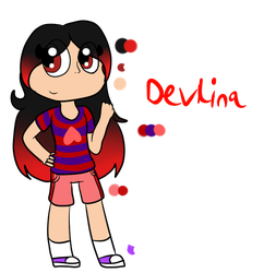 Devlina reference by OctoWeeb