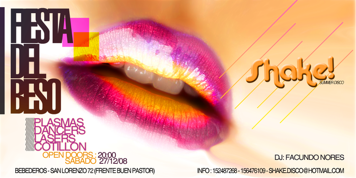 Fiesta del beso by supremeLED