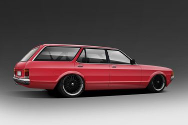 Ford granada wagon by Mafiak13