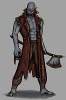Veros, Ghoul Barbarian by slithas
