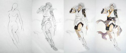 WIP Assassin by Poison-and-the-Rose