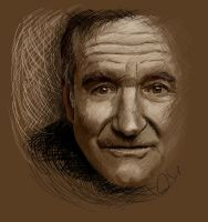 Robin Williams by chucker19