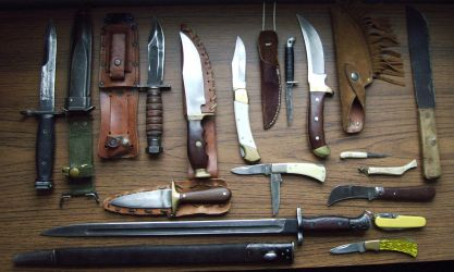 Knives by peirrin