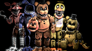 [SFM FNAF] The withered came by MemeEver