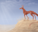The Great Sand Sea by SketchingWorlds