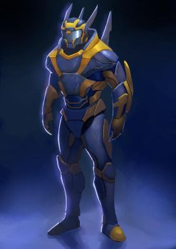 Blue and Yellow by outlawzz83