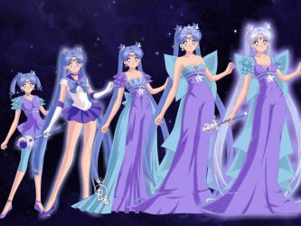 Shimmer's many forms by Queen-Rini