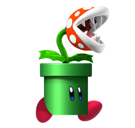 Kirby's Piranha Plant Costume by Zerg620