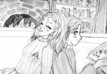 Ginny and Neville by mezo9