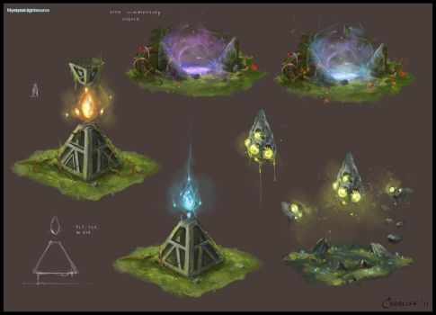 Mystical Lightsource Concept 2 by AlexanderExorcist