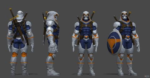 Taskmaster CoC by SSingh511
