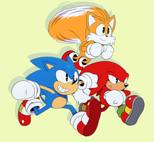 Sonic Mania by ss2sonic
