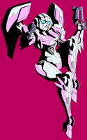 Here have a Crappy Arcee by Tyrranux