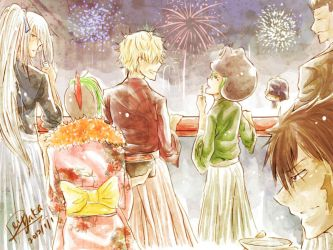 New Year ver. Colored by Rei-Yaka