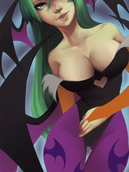 morrigan by Suguro