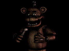(C4D)Mr.fazbear by SpringBonnieTheTrap