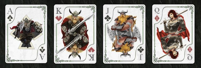 Playing Card deck by gusmedi