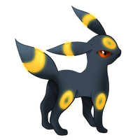 Pokemon 197 - Umbreon