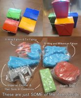 Box of Star Wars Soap Surprise! by lcponymerch