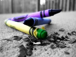Crayons by swarley7