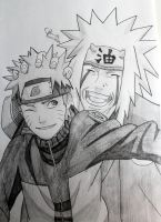 Naruto and Jiraiya by ViivaVanity