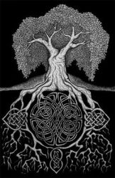 celtic knot tree by toeknuckles