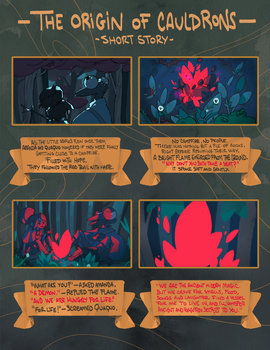 The Origin of Cauldrons [Part 1] by guillegarcia