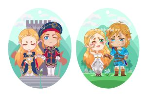 Appointed Knight - Double Sided Charm by BleachcakeCosplay