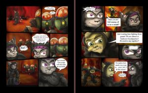 Immoral Flame Page 4 and 5 by shinragod