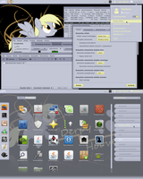 Derpy Hooves Gnome-shell 3.2 theme by Hopskocz