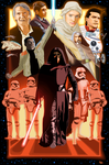 The Force Awakens in MS PAINT by CaptainRedblood