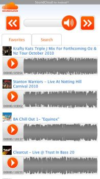 SoundCloud for Android - Faves by JesterXL