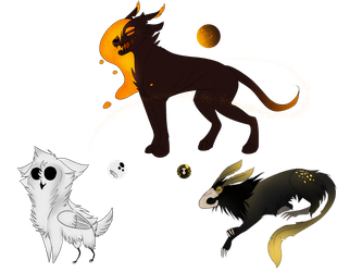Mystery Adopts [CLOSED] by xRavenCat