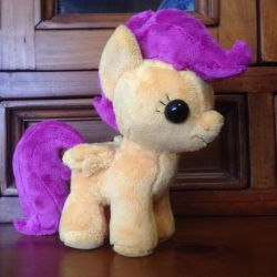 MLP: Scootaloo Plushie by ChibiTigre