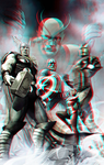 The Avengers by Adi Granov in 3D Anaglyph by xmancyclops