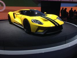The redesigned Ford GT  by JoshuaCordova
