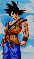 goku cielo by salvamakoto