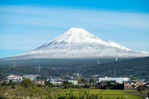 Mt Fuji. by the3dman