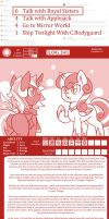 The Adventure Logs Of Young Queen Set 79 by vavacung