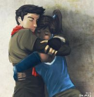 MaKorra :: In your arms by SalPal22
