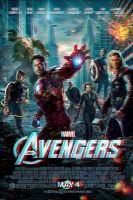 Avengers Movie Poster 3D Anaglyph by xmancyclops