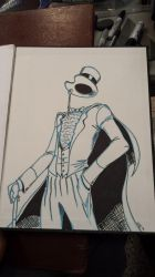 Gentleman Ghost Comic-Con Commission by gwdill