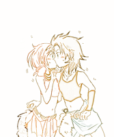 FFXIII: Fang And Vanille Kissy by Jenny-chama