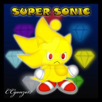 Super Sonic Chao by CCmoonstar23