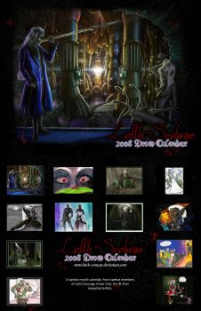 2008 LS Drow Calendar by Lolth-Scourge