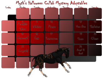 HALLOWEEN MYSTERY ADOPTS [7 Left] by NorthernMyth