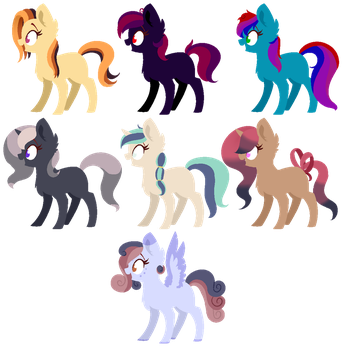 old Adopts (Open) by LunaEclipsa