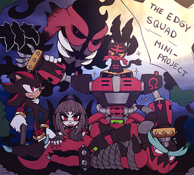 The Edgy Squad Project by Ami-Dark